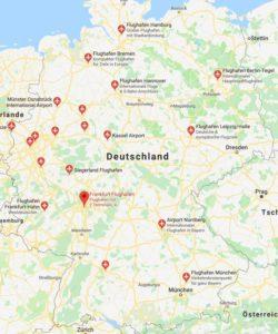 Flughäfen Deutschland Karte.Flughafen Deutschland Flughafen Deutschland Eu