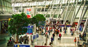 Bild vom Terminal a am Flughafen Düsseldorf