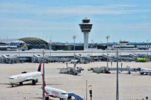 Flughafen münchen rollfeld