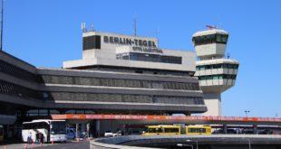 Tower von Flughafen Berlin Tegel