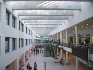 Terminal am Flughafen Bremen