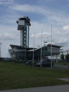 Turm vom Flughafen in München