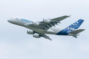 Startender Airbus A380