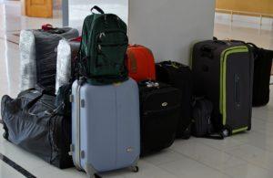 Koffer und Bordgepäck