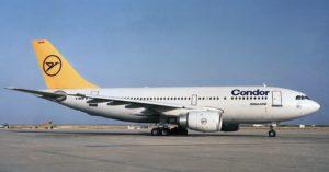 Flugzeug der condor gruppe