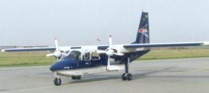Flugzeug der FLN frisia