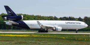 boeing 777 der lufthansa cargo