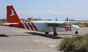 Maschine vom OFD Ostfriesischer Flugdienst
