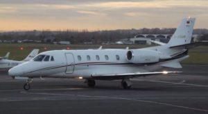 Flugzeug von windrose air jet charter