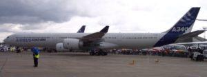 Stehender A340
