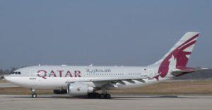 Airbus A310 auf der Taxiway
