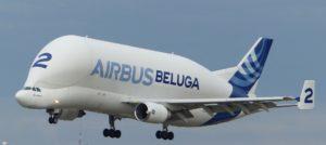 Frachtflugzeug Beluga