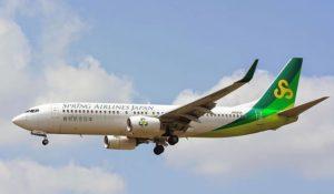 Boeing 737 800 mit Fahrwerk