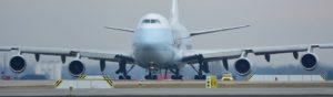 Startende boeing 747
