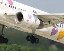 Triebwerk der Boeing 757