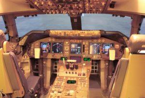 beleuchtung boeing 747 400