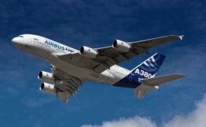 Airbus A380 Flugzeug