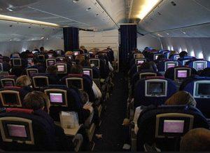 Sitze in der Boeing