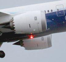 Turbinen der boeing 787