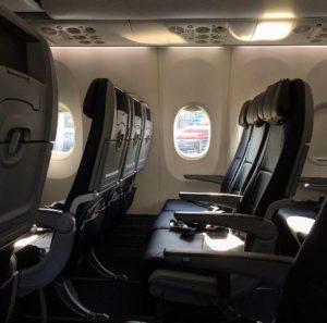 Sitze in der Boeing 737M