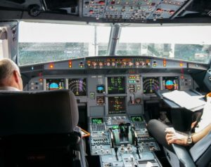 pilotenkanzel airbus