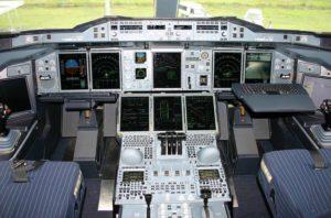 Steuer von Airbus A380