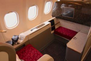 luxussitz im Airbus