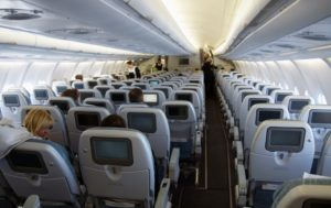 Sitzplätze im Airbus A330