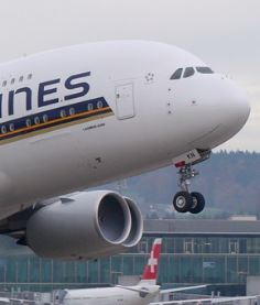 Flugzeug Singapore Airlines